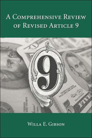 Book cover of A Comprehensive Review of Revised Article 9