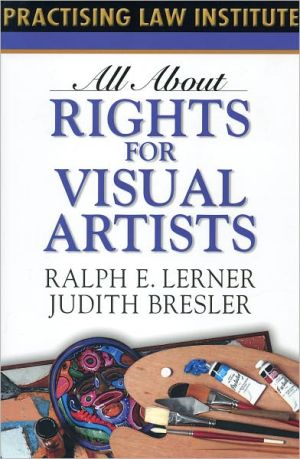 Book cover of All About Rights for Visual Artists
