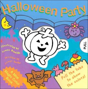 Book cover of A Mini Magic Color Book: Halloween Party