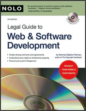 Book cover of A Legal Guide to Web & Software Development