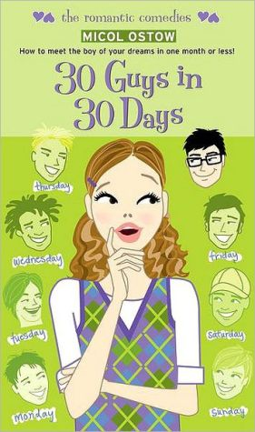 Book cover of 30 Guys in 30 Days