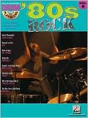 Book cover of '80s Rock: Drum Play-Along Volume 8