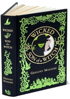Book cover of Wicked/Son of a Witch (Barnes & Noble Leatherbound Classics)