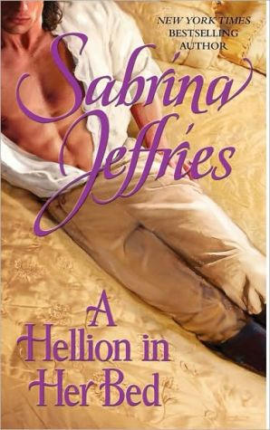 Book cover of A Hellion in Her Bed (Hellions of Halstead Hall Series #2)