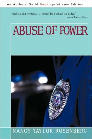 Book cover of Abuse of Power