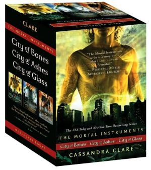 Book cover of The Mortal Instruments Boxed Set: City of Bones; City of Ashes; City of Glass (Mortal Instruments Series)