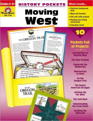 Book cover of History Pockets, Moving West, Grades 4-6
