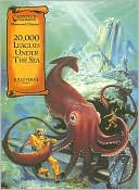 Book cover of 20,000 Leagues Under the Sea-Illustrated Classics-Read Along