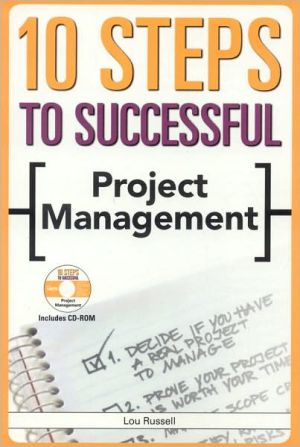 Book cover of 10 Steps to Successful Project Management