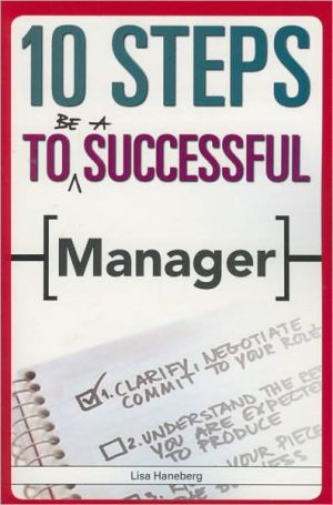 Book cover of 10 Steps to Be A Successful Manager