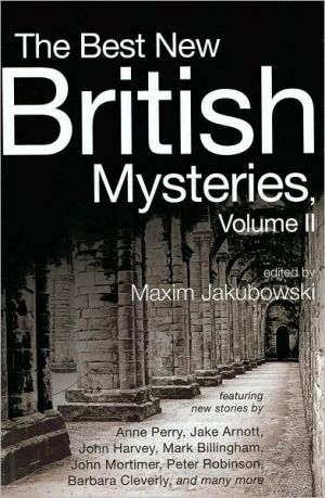 Book cover of The Best New British Mysteries, Volume II