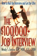 Book cover of $100,000+ Job Interview