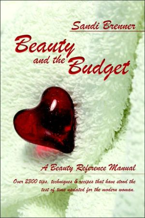 Book cover of Beauty and the Budget