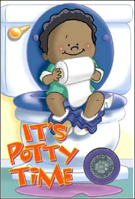 Book cover of It's Potty Time for Boys