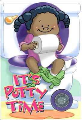 Book cover of It's Potty Time for Girls