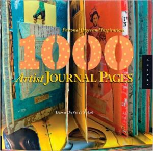 Book cover of 1,000 Artist Journal Pages: Personal Pages and Inspirations