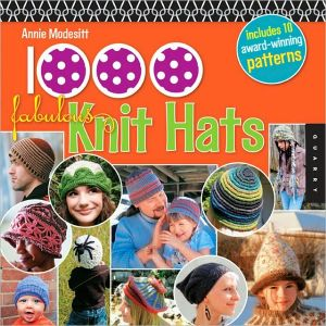 Book cover of 1,000 Fabulous Knit Hats