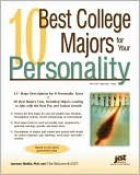 Book cover of 10 Best College Majors for Your Personality