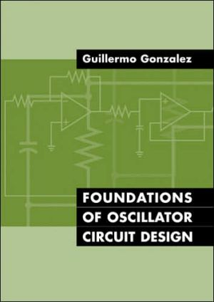 Book cover of Foundations of Oscillator Circuit Design