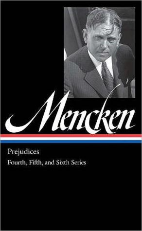 Book cover of Prejudices: The Fourth, Fifth, and Sixth Series
