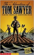 Book cover of The Adventures of Tom Sawyer