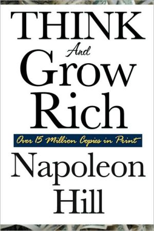 Book cover of Think and Grow Rich