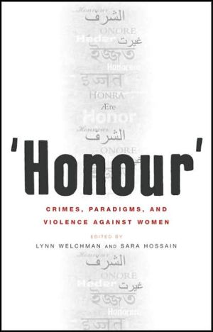 Book cover of 'Honour': Crimes, Paradigms, and Violence Against Women