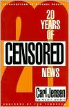 Book cover of 20 Years of Censored News