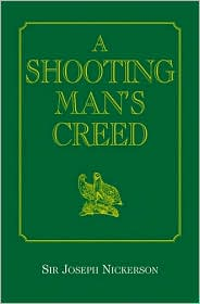Book cover of A Shooting Man's Creed
