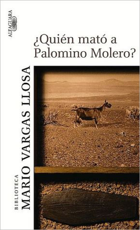 Book cover of ¿Quién mató a Palomino Molero? (Who Killed Palomino Molero?)