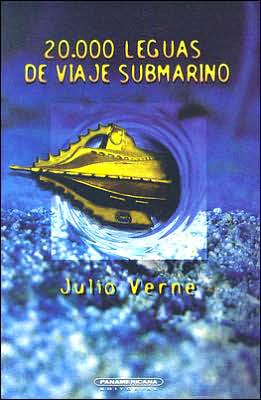 Book cover of 20,000 Leguas de Viaje Submarino